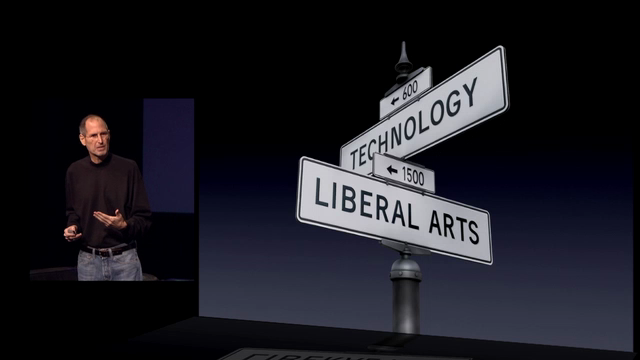 the crossroads of technology and liberal arts
