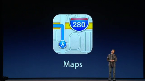 iOS 6 maps keynote presentation